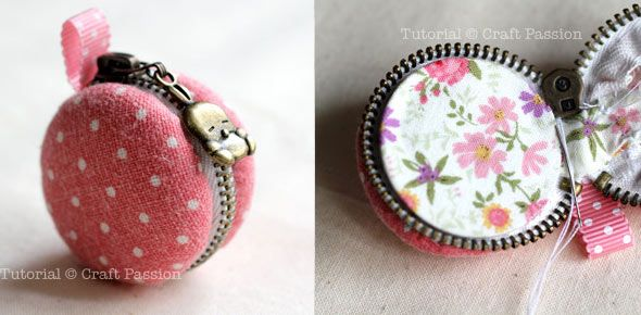 Sew Macaron Coin Purse Craft Tutorial