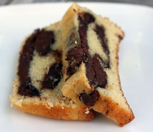 nutella pound cake