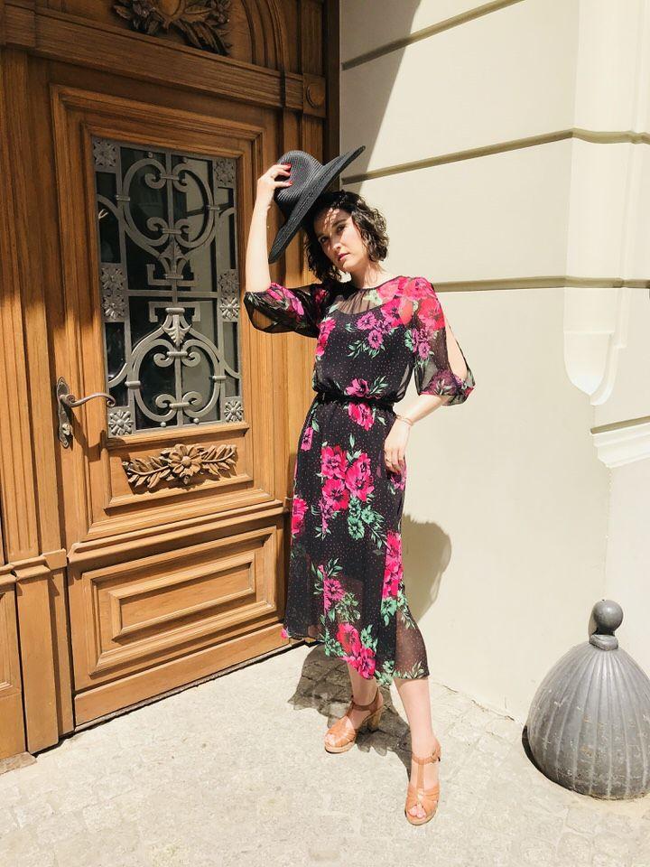 Wiskozowa Sukienka W Kwiaty Na Cieple Dni I Upaly D P Blog Fashion Fashion Blog Style