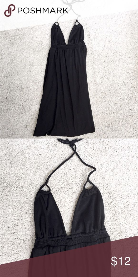 Black Cover Up Dress 31 inch length. Used a handful of times! From target! No holes rips or stains! No trades. Listed on merc for less! Xhilaration Swim Coverups