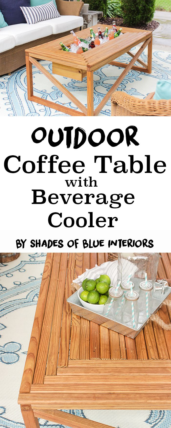 Beer Cooler Coffee Table 17 Best Ideas About Outdoor Coffee Tables On Pinterest Outdoors