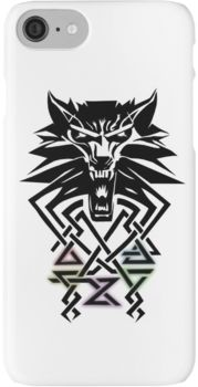 Witcher Medallion iPhone 7 Cases