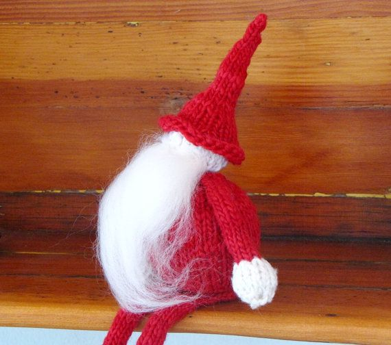 Elf Knitting Hearts : Father christmas elves and knitting on pinterest