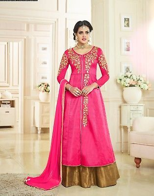 Other Womens Clothing 314: Indian Salwar Kameez Anarkali Suit Pakistani Bollywood Designer Dress Se Us 110 -> BUY IT NOW ONLY: $60.99 on eBay!