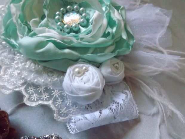 Mint Green headband