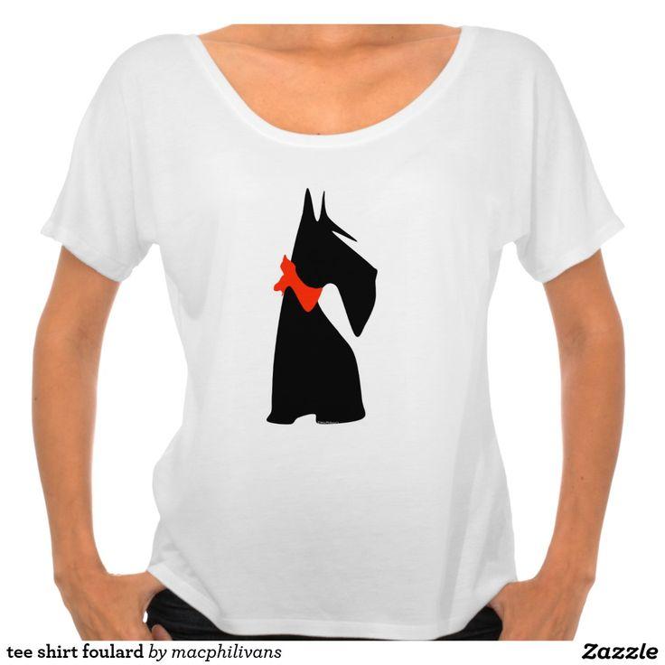 tee shirt foulard t-shirt