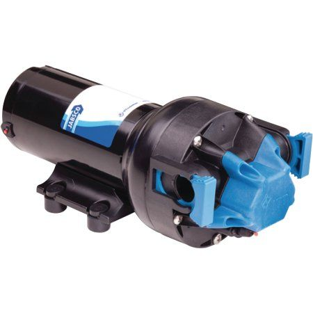 Jabsco 82500-0092 12V 5.0 GPM Par Max Plus Automatic 50 PSI Water Pressure Pump, Multicolor