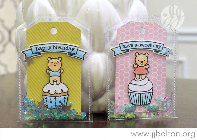 FUSE TOOL JJ Bolton {Handmade Cards}: Envelope Shaker Tags with The Greeting Farm