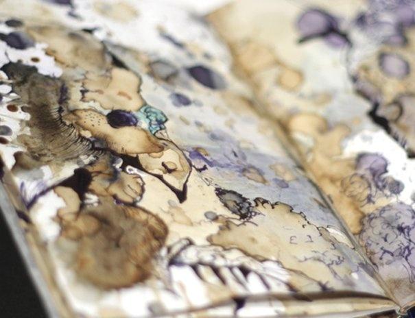Art Sketchbook watercolour & ink