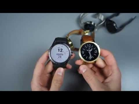 TAG Heuer Connected vs. Moto 360, Huawei Watch, Gear S2 - YouTube