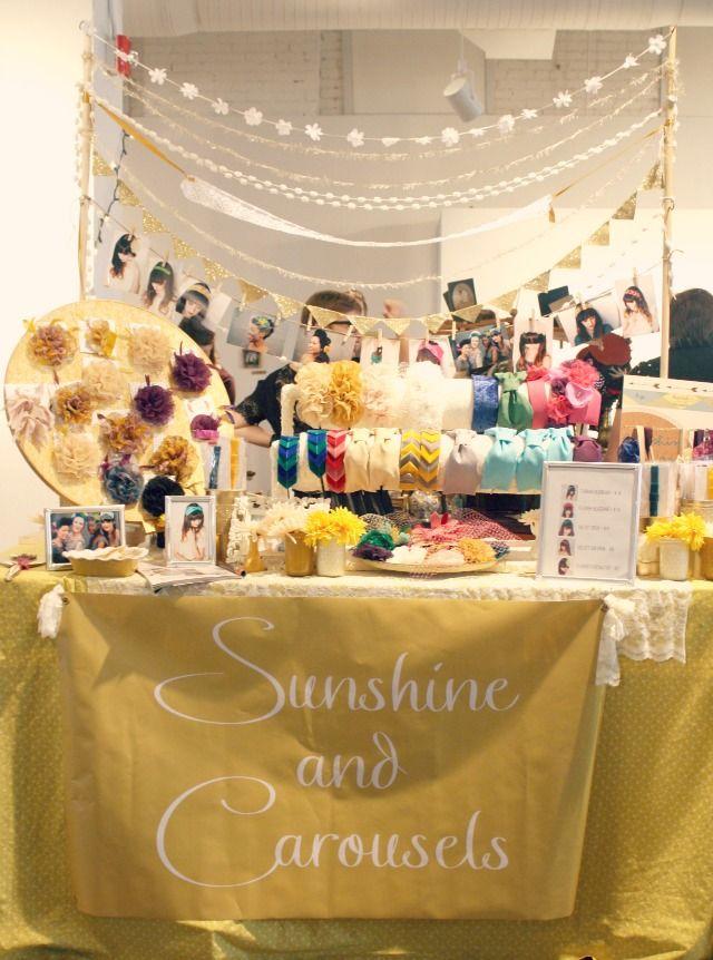 carosello craft show mania an indie emporium display