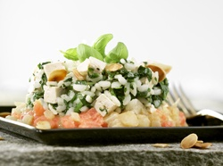 Risottomet spinazie en tofu; Recept » Colruyt Culinair