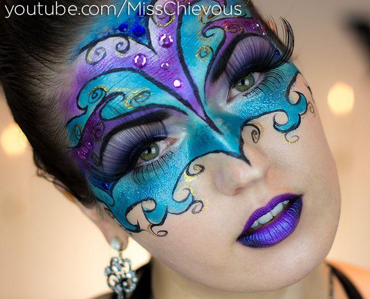 Masquerade Mask Makeup                                                                                                                                                                                 More