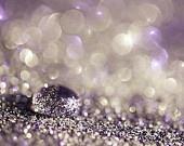 35% RABATT auf SALE lila Glitzer Dekor Fotografie Pastell lila Lavendel weiß silber schwarz funkeln hell lila Kreise dunkel Bokeh hell abstr