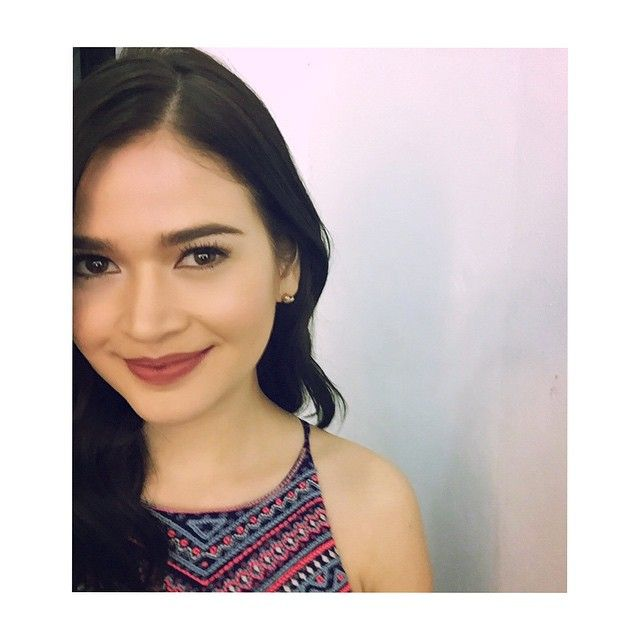 Bela Padilla: Thank you @jellyeugenio and @Jhuvanesque for my make up, @paulnebres for styling my hair and the ever beautiful @mielvvillamor for the awesome clothes!!! ❤️ | Pinoy Reality Showbiz Balita - Artistagram