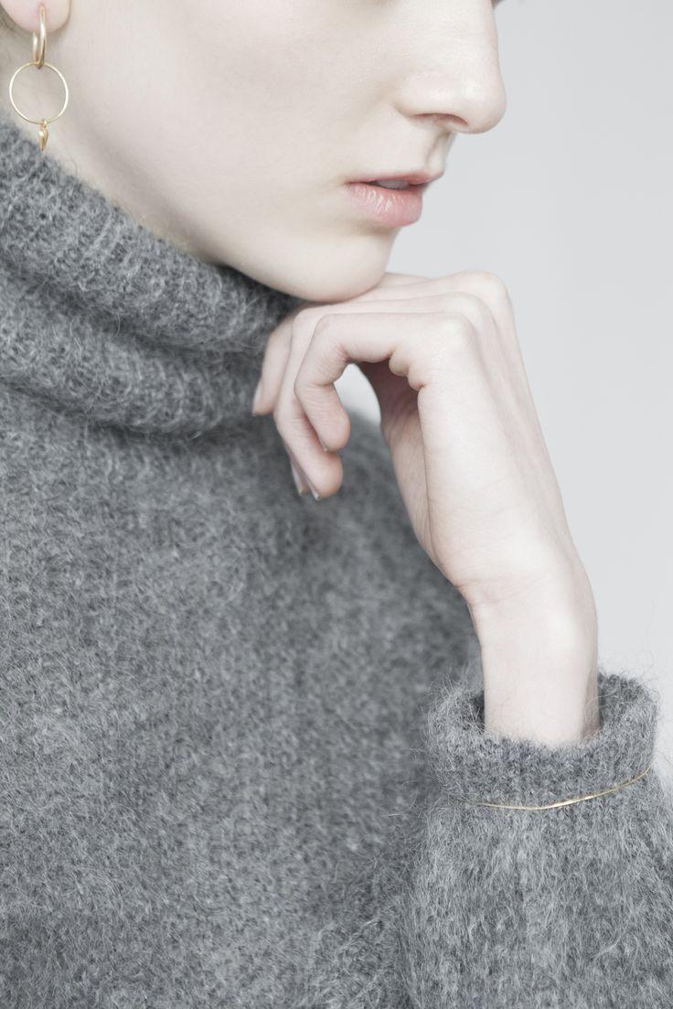 earrings - stella - Anna Lawska Jewellery photo - Katarzyna Tur
