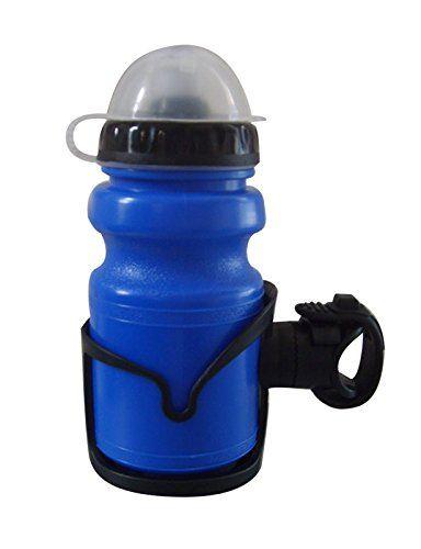 Sunlite Multi Mount Children's Bottle and Cage, 10oz, Blue Bottle/Black Cage http://coolbike.us/product/sunlite-multi-mount-childrens-bottle-and-cage-10oz-blue-bottleblack-cage/