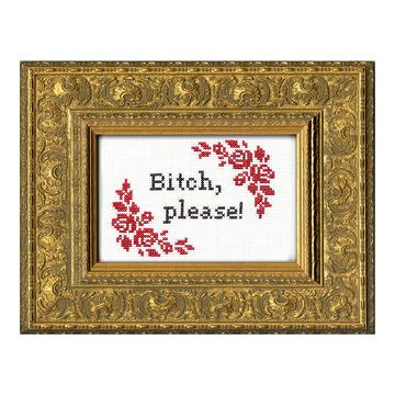 Anger Management Therapy with a difference...So many different...*ahem*..designs for you to stitch yourself. POP.COM.AU