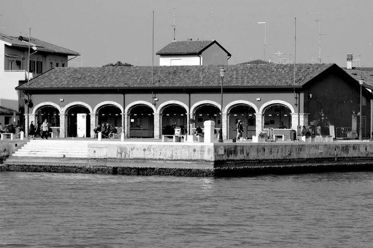 pescheria vecchia a Marano Lagunare. autore ©Franco Gardiman