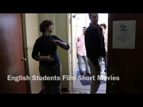 English Students create short films to learn about story telling from different angles.