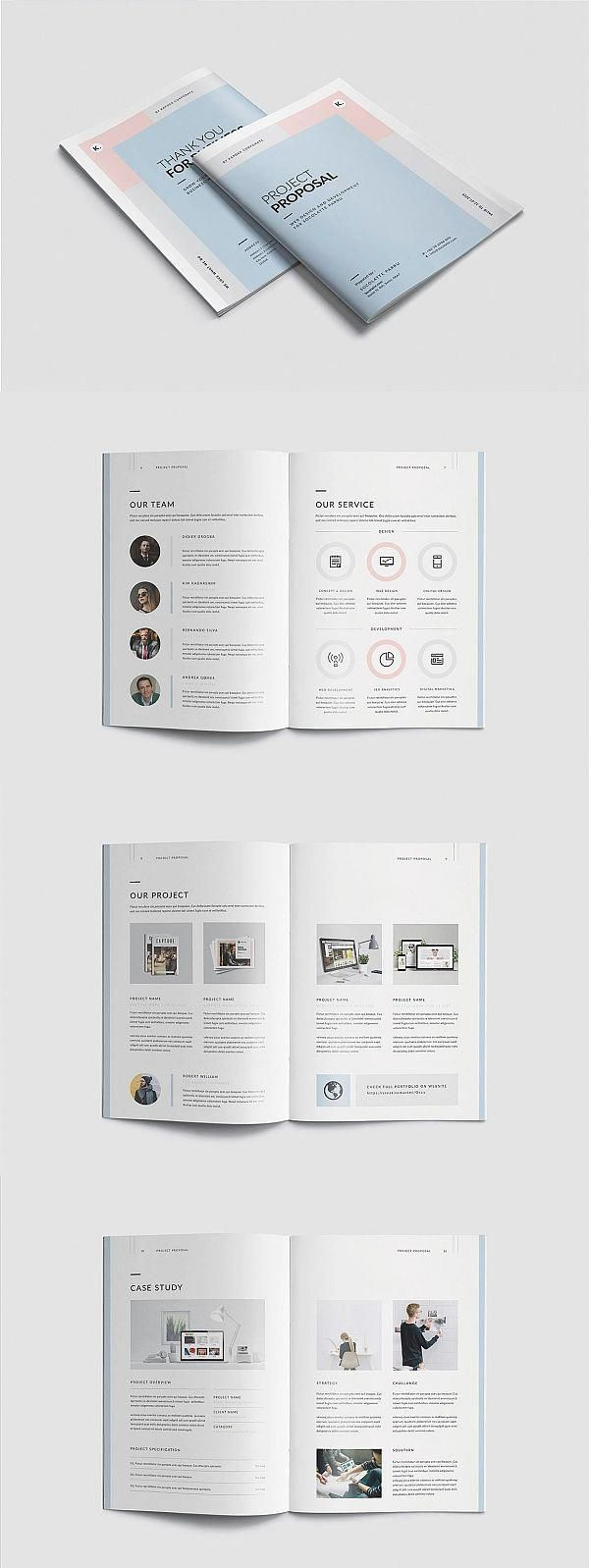Proposal Brochure Template #proposal #brochure #template #indesign #templates