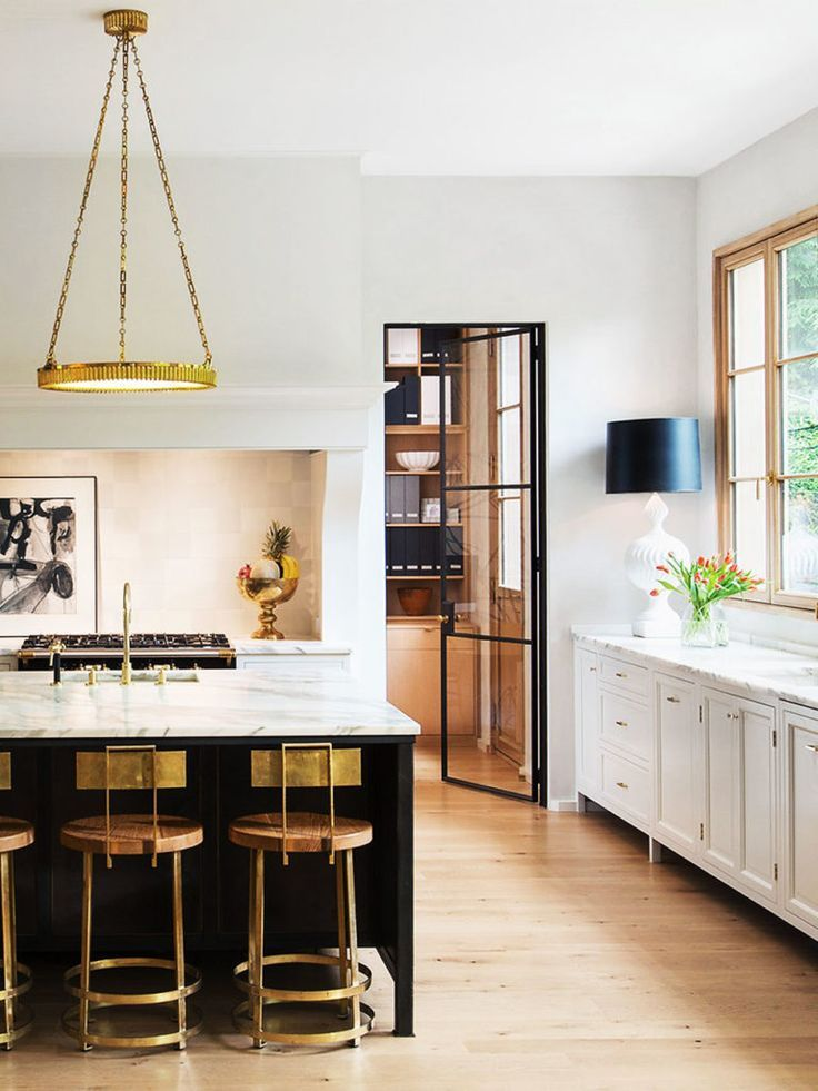 Why Your Kitchen Needs A Table Lamp Thou Swell Interior Design Kitchen Luxury Kitchens Contemporary Kitchen
