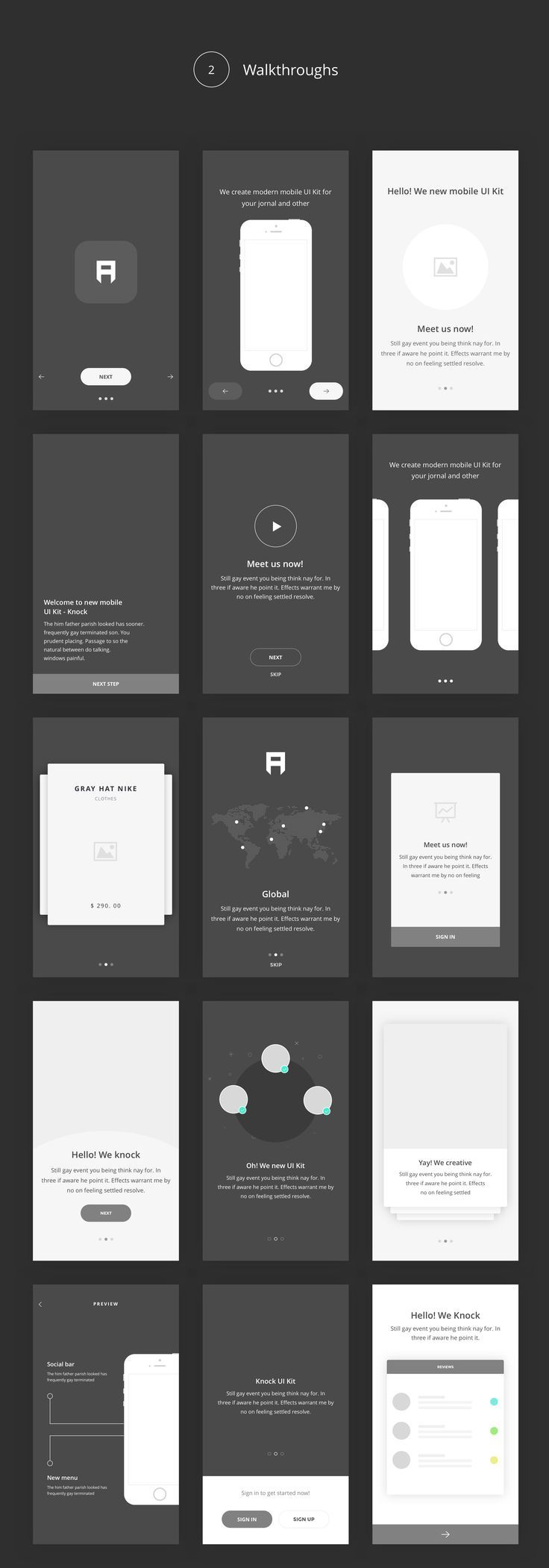 Arco – Wireframe Mobile UI Kit - Sketch Templates | ThemeForest (affiliate)