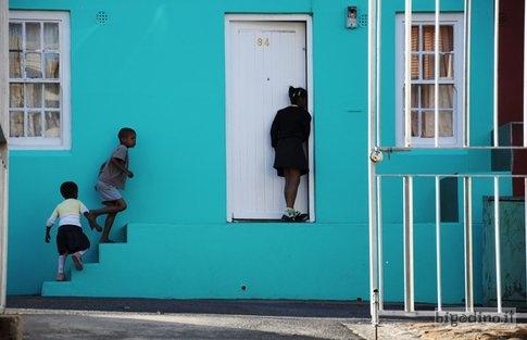 Children in Bo-Kaap, Cape Town