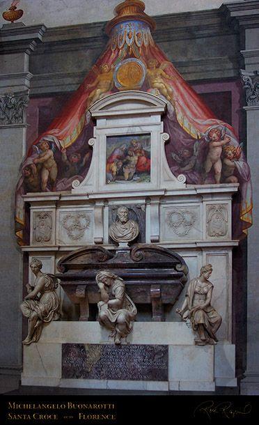 TUMBA DE Michelangelo_SantaCroce_ FLORENCIA