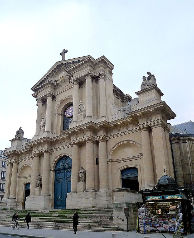 Paris I - Eglise Saint-Roch façade - 286 rue Saint-Honoré