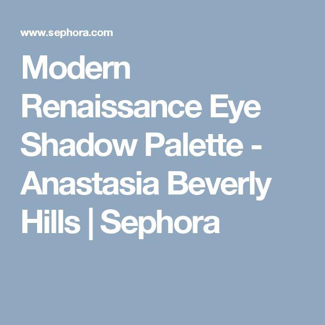 Modern Renaissance Eye Shadow Palette - Anastasia Beverly Hills   Sephora
