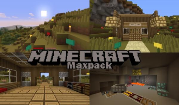 Maxpack Texture Pack para Minecraft 1.2.5