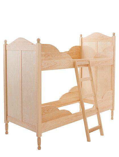 Dieses Hochbett Prinzessin läßt sich in ein Bett mit Spielbetrieb oder Doppelbett verwandeln, aus Massivholz, jetzt bei car-Moebel.de bestellen!