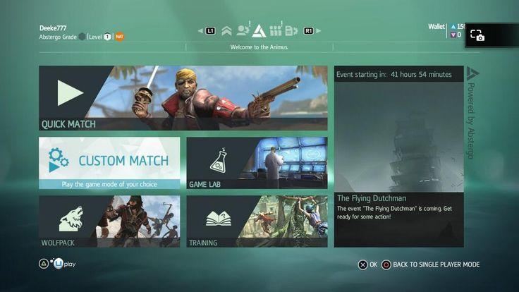 Assassins Creed UI Study.