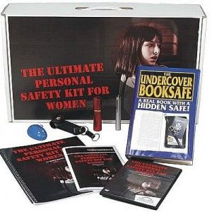 The #SafeFamilyLife Ultimate Personal Safety Kit For Women is specifically structured to keep women safer while at home or out and around. From the book diversion safe to hide valuables; to personal safety with pepper sprays, personal alarm and electronic whistle. Plus a manual with instructions for each product in the kit and a DVD that demonstrates each product for you. $95.00  http://www.absolutesecuritystore.com/safety-kits/ultimate-personal-safety-kit-for-women.html  Repin: Safety Kitwomen, Ultimate Personalized, Women Safer, Safefamilylif Ultimate, Personalized Alarm, Peppers Sprays, Safety Kits, Personalized Safety, Safety Products