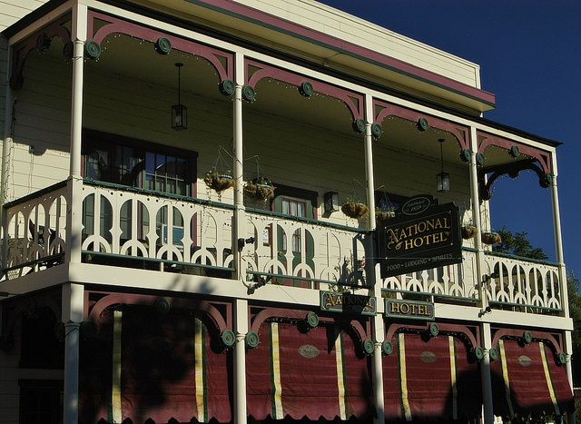 Historic and Haunted National Hotel - Jamestown CA, I use to tend bar and wait tables hair back in the day also very fun replacement a lot of noise at night I'll tell you that