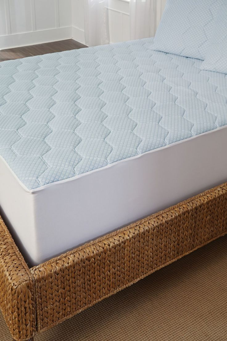 Cool-Gel Memory Foam Mattress Pad