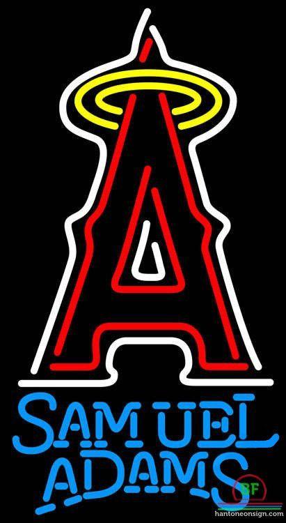 Samuel Adams Anaheim Angels Neon Sign MLB Teams Neon Light