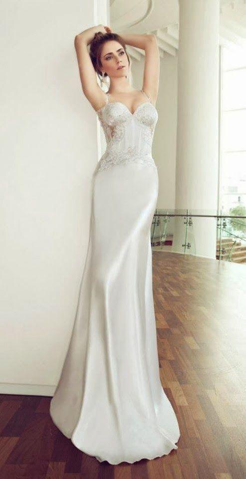 Hermosos Vestidos de novia elegantes   Moda 2014