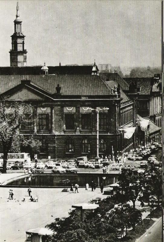 Poznan Poland, Plac Wolności z końca lat '80