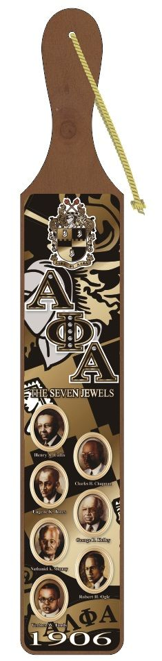 ALPHA PHI ALPHA FOUNDERS ACRYLIC TOPPED