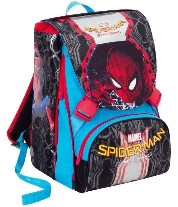 e9d65c9188 Zaino Sdoppiabile Big Spiderman Homec Silver Marvel Seven