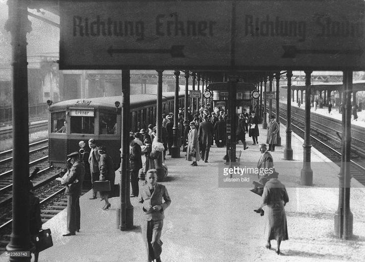 Popular S Bahnhof Ostkreuz auf den Vorortgleisen der Schlesischen Bahn Berlin Zug u