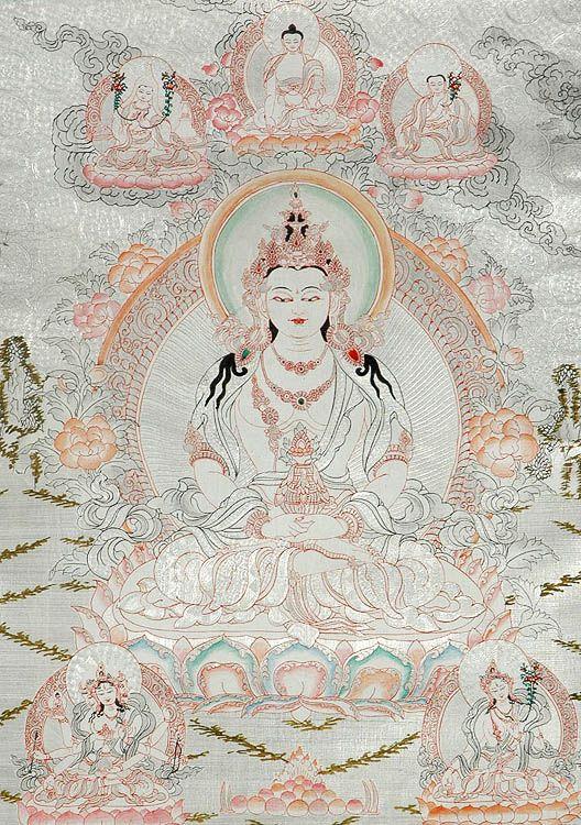 IMAGES OF LIFE OF THE BUDDAH   Amitayus - The Buddha of Long Life