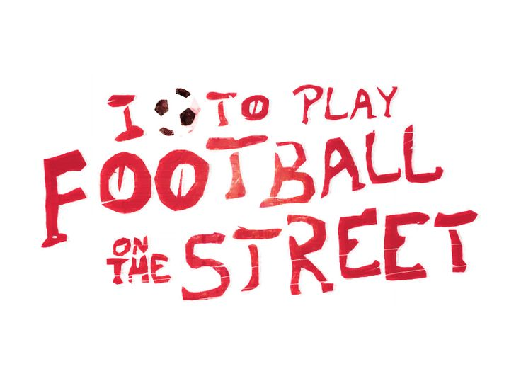 Street soccer has rules of its own. What are your rules?