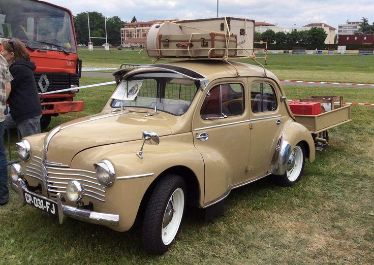 Renault 4Cv (Toutes options)