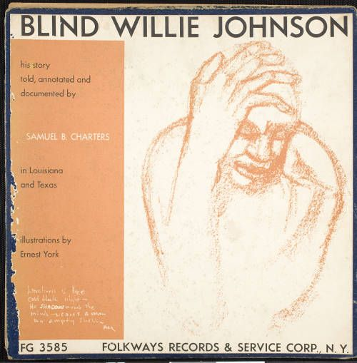 Blind Willie Johnson, 1957, [album front cover] :: Blind Willie Johnson, 1957 :: Gospel Music History Archive. http://digitallibrary.usc.edu/cdm/ref/collection/p15799coll9/id/694