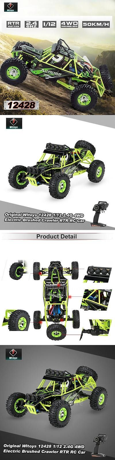Toys And Games: Wltoys 12428 1 12 2.4G 4Wd Electric Brushed Crawler Rtr Rc Car Best Gift Usa -> BUY IT NOW ONLY: $67.14 on eBay!