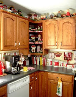 Kitchen Decorated With Campbells Soup Collection....YOU Could Start A  Collection Of