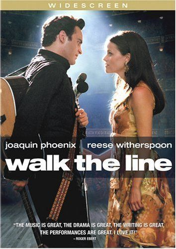 Walk The Line...  Walk the Line is a 2005 American biographical drama film directed by James Mangold and based on the early life and career of country music artist Johnny Cash. The film stars Joaquin Phoenix, Reese Witherspoon, Ginnifer Goodwin, and Robert Patrick